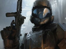Halo 4 ODST Video Game Art Huge Giant Wall Print POSTER