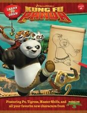 Learn to Draw DreamWorks Animation's Kung Fu Panda: Featuring Po, Tigress, Maste