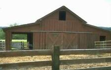 201 BARN HORSE CABIN HOME SHED TRUSS BUILDING PLANS 32S