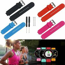 Sport Watch Band Strap W/Pins For Garmin Forerunner 220 230 235 620 630 735XT