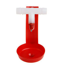 Poultry Water Drinking Cups Plastic Hanging Chicken Automatic Fowl Drinker