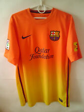 EXCELLENT!!! 2012-13 Barcelona Away Shirt Jersey M L