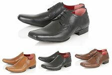Mens Real Leather Wedding Shoes Italian Formal Office Casual Boys Shoes Size