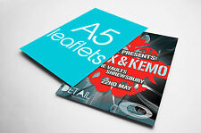 Full Colour A5 shop Leaflets and Flyers 250, 500, 1000, 2500, 5000, 10000, 15000