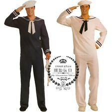 Halloween Costume Navy Sailor Adult Cosplay Holiday Party Drama Fancy Dress