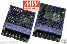 MW Mean Well Power Supply 230V AC ~ 12V DC Trafo for LED RGB 50W & 100W