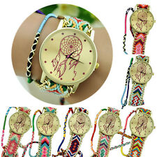 Fashion Dreamcatcher Friendship Bracelet Watches Women Braid Dress Wrist Watch