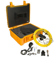 SDT Pipeline Sewer Inspection Drain Snake Pipe Camera With DVR 130 FT Cable