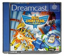 BUZZ LIGHTYEAR OF STAR COMMAND (PAL Dreamcast Game) Toy Story Sega DC C