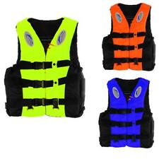 Adult Kids Swimming Buoyancy Aid + Whistle Foam Life Jacket Vest Sailing PDF