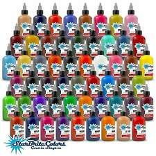 StarBrite Colors Tattoo Ink Set 1/2 oz