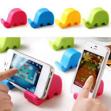 3pc Candy Color Elephant Phone Holder Stand Bracket Support for Mobile Phone Pen