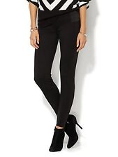 New York & Company 7th Avenue Design Legging Fit Stretch Panels Pant Size XS NWT