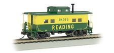 Bachmann Industries HO Scale Northeast Steel Caboose Reading #94070, Green and Y