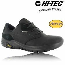 MENS WATERPROOF LEATHER HIKING WALKING TRAIL RAMBLING SHOES TRAINERS BOOTS SZE