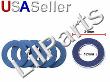 Oil Drain Plug Crush Washer O Ring Gasket Seal 90430-12031 Toyota Scion