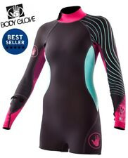 NEW! Womens Body Glove Stellar 2mm Long Sleeve Surfing Diving Snorkeling  16131W