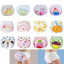 Kids Baby Panties Diaper Cloth Training Pants Baby Nappies Diaper Cover Trousers