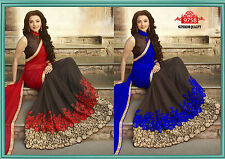 Designer Sari Bollywood Indian Party Wear Saree Bridal Wedding Pakistani Saree