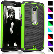 Armor Hybrid Shockproof Hard Case Cover for Motorola MOTO X Play Droid MAXX 2