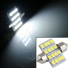 5pcs 31mm Festoon 16 SMD 1210 Car Led Auto Interior Dome Door Light Lamp Bulb