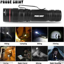 Super Bright 3000LM Zoomable CREE XM-L Q5 LED AA/14500 Flashlight Torch Light US