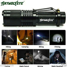 6000LM Super Bright CREE XML T6 Tactical Zoomable LED Flashlight Torch Lamp US