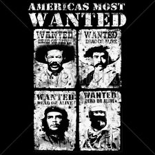 Americas Most Wanted Che Marcos Villa Zapata Revolution Culture Hero T-Shirt Tee