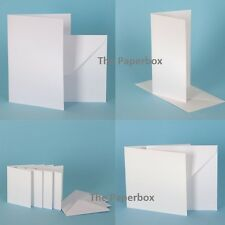 White Hammer Card Blanks & Envelopes, premium DIY stationery
