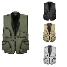 Vest Fly Fishing Hunting Mens Travel Jacket Outdoor Life Multi Pockets Waistcoat