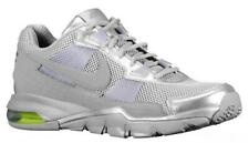 Mens NIKE AIR MAX TRAINER SC 2010 LOW Silver Trainers 407846 007 UK 7 EUR 41
