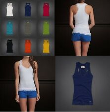 NWT Hollister by Abercrombie Womens Jack Creek Sexy Lace Racerback Tank Cami