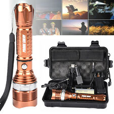Golden 6000LM Zoomabble CREE XM-L T6 LED Adjustable Focus Flashlight Torch Light