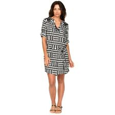 Alexa Dress Picnic Black - Firefly - Women's Short Summer Dress