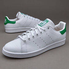 Shoes Adidas Stan Smith s80029 Sneaker man White Green Running