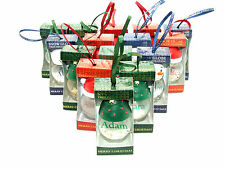 H&H Novelty Personalised Christmas Snow Globe Named Bauble - Choice of Names