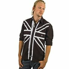 New ENGLISH LAUNDRY Designer Men's Button Up Dress Shirt With English Stripes