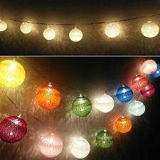 10/20LED Battery Operated String Fairy Lights Christmas Wedding Party Decoration