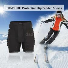 Protective Shorts Hip Butt Pad Impact Resistance Sportswear Skiing Skating Q0D4