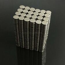 NEW 100/200Pcs Super Strong 4 x 1mm N50 Round Disc Neodymium Rare-Earth Magnets
