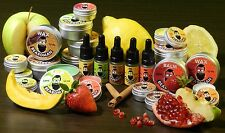 BEARDMAN Wax Moustache & Beard Wax Balm Oil Kit Handmade Natural Eco