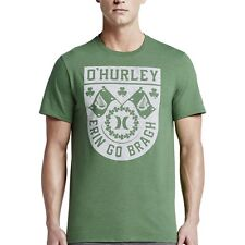Hurley Tee Shirt - O'Hurley - Heather Kelly Green