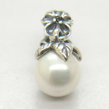 Genuine S925 Silver Garden Odyssey Pearl Dangle Charm bead