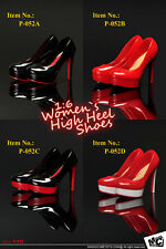 """High-heel Shoes For 1/6 Scale Female 12"""" Action Figure 1:6 Phicen Toy"""