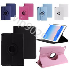 360 Rotating PU Leather Smart Stand Case Cover Fr Apple iPad Air Pro 12.9 Mini 4