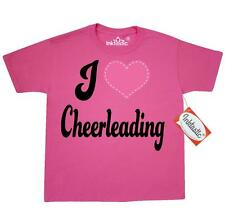 "Inktastic I Love Cheerleading Youth T-Shirt ""cheerleading"" ""gift For Lover"" ""i"