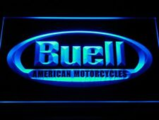 Buell LED light Sign Motorcycle garage wall hangings decor man cave mens gift