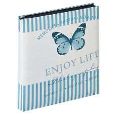 Walther Mariposa Blue 6x4 Slip In Photo Album - 400 Photos Overall Size 12x13