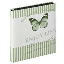 Walther Mariposa Green 6x4 Slip In Photo Album - 400 Photos Overall Size 12x13