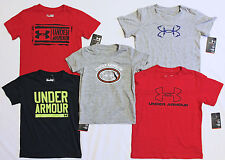 Boys Under Armour Shirts Short Sleeve Toddler Baby New 12M 24M 4T